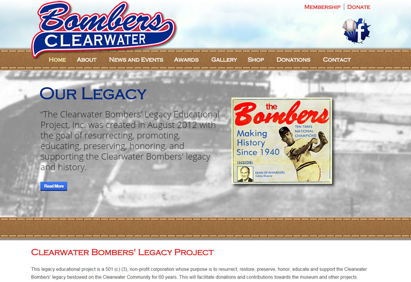 Clearwater Bombers Screenshot