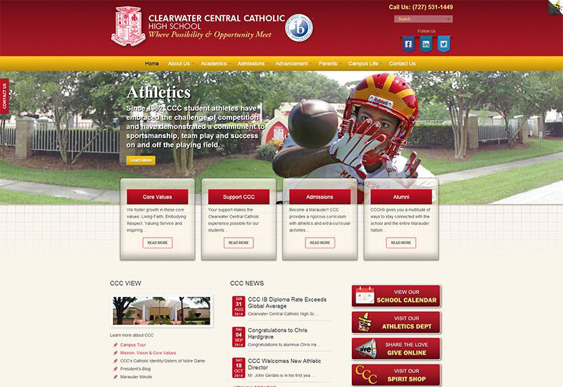 Clearwater Central Catholic High School