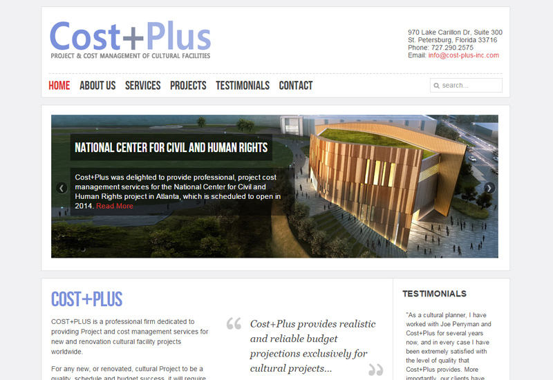 Cost Plus Screenshot