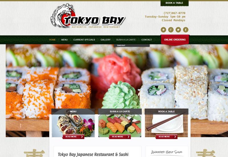 Tokyo Bay Restaurant Screenshot