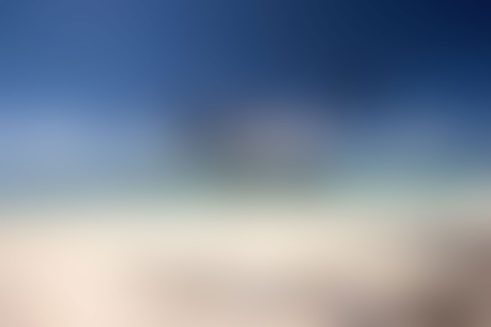 Blurred Background Blue Tan